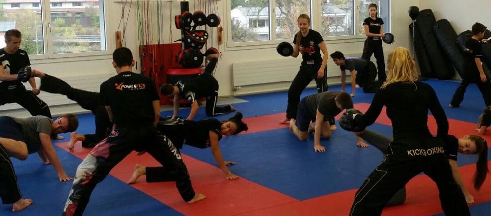 Kickboxen Action